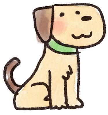 犬のイラスト(動物)