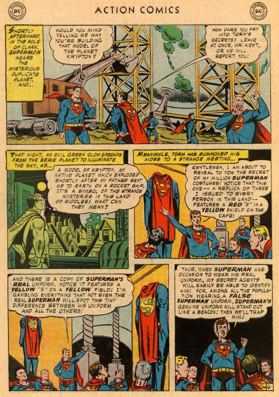 Read online Action Comics (1938) comic -  Issue #233 - 8