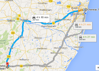 Chennai Tiruvannamalai Trip Vacation Route map Stay Things to do Places