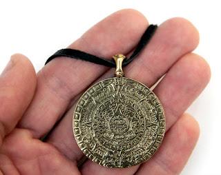 купить кулон календарь ацтеков украшения из бронзы симферополь