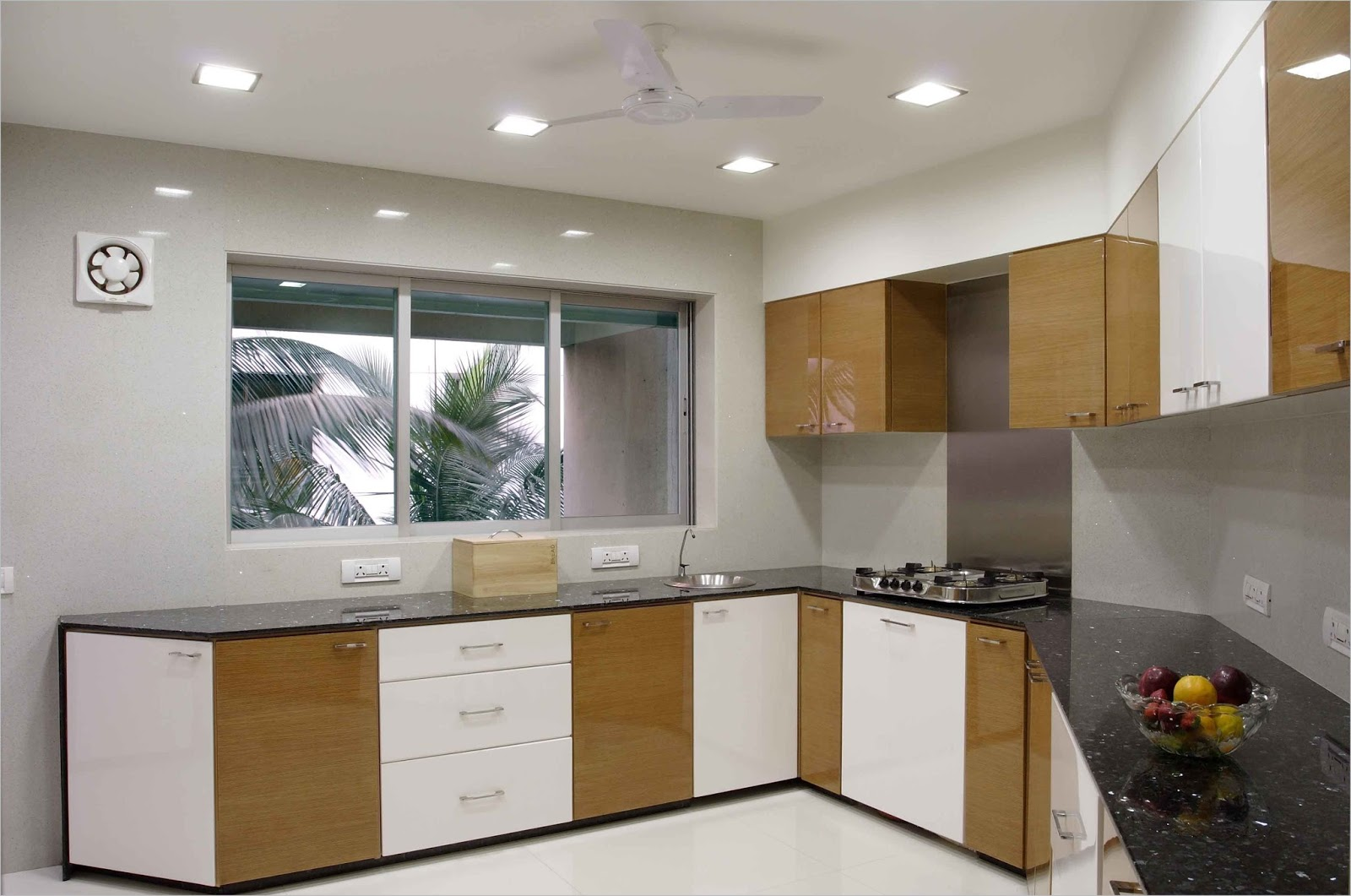Simple Kitchen Interior Design India Kitchen Cabinets L Shaped