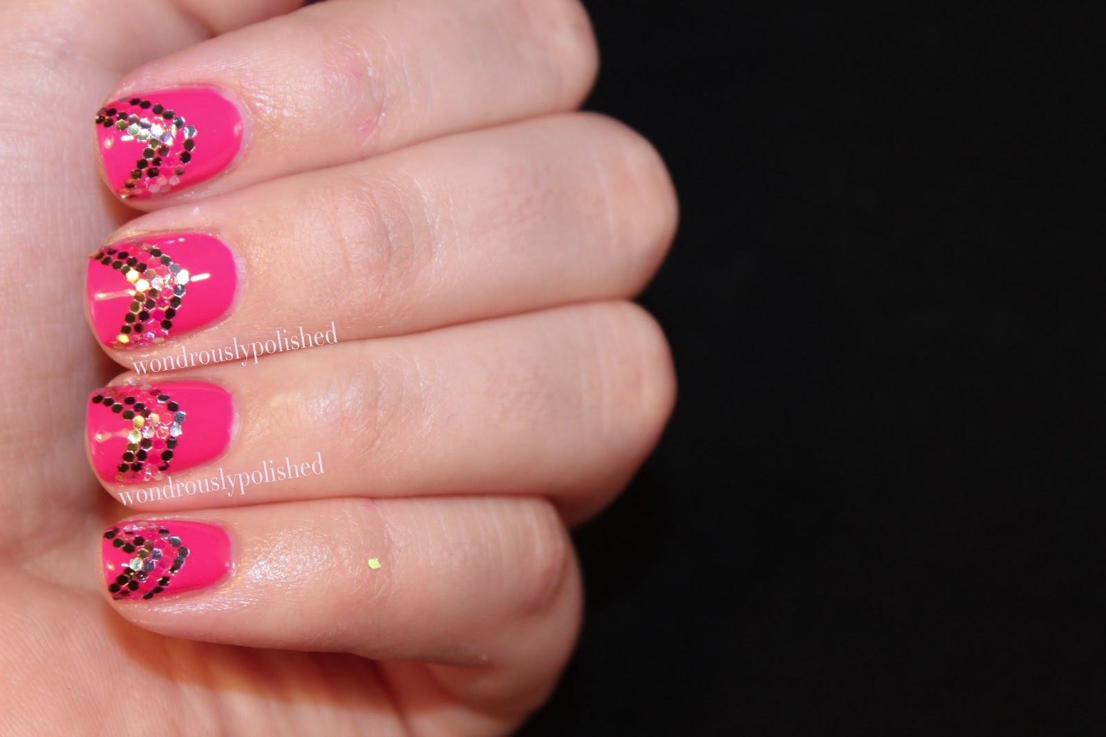 Wondrously Polished: March Nail Art Challenge - Day 1 ...