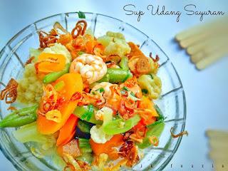 Ide Resep Masak Sup Udang Sayuran
