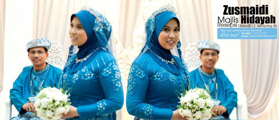 21 Trend Populer Baju Pengantin Songket Blue Black