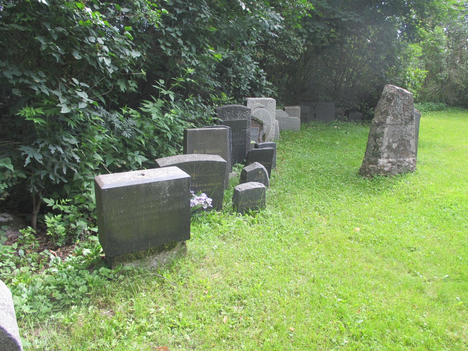 Hautakivet Kuvattuna