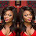 Beautiful makeup Funke Akindele-Bello maarufu kama  'Jenifa'