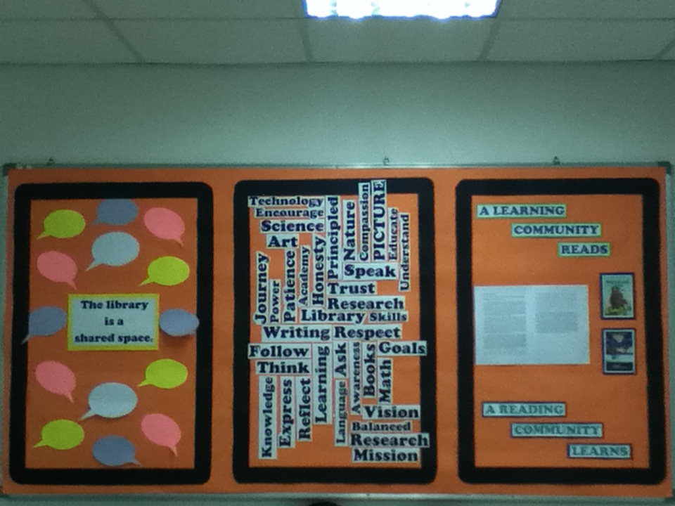 School Librarian in Action: Library Bulletin Board: Start ...