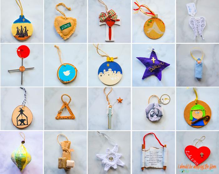 Jesse Tree Ornament Ideas