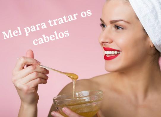 receitas com mel para cabelos