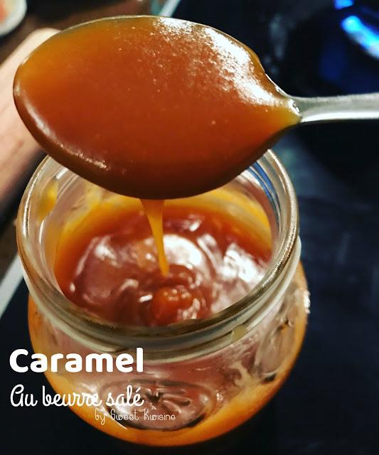 sweet kwisine, caramel au beurre salé, CBS, homemade, fait maison