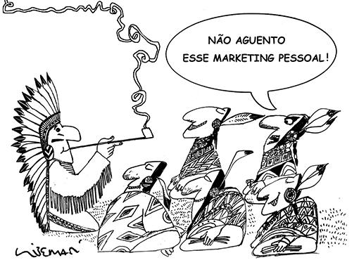 LIBERATINEWS: Cartum da série Marketing Pessoal