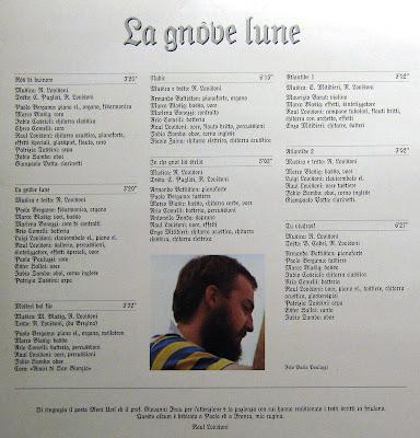 Raul Lovisoni La Gnove Lune