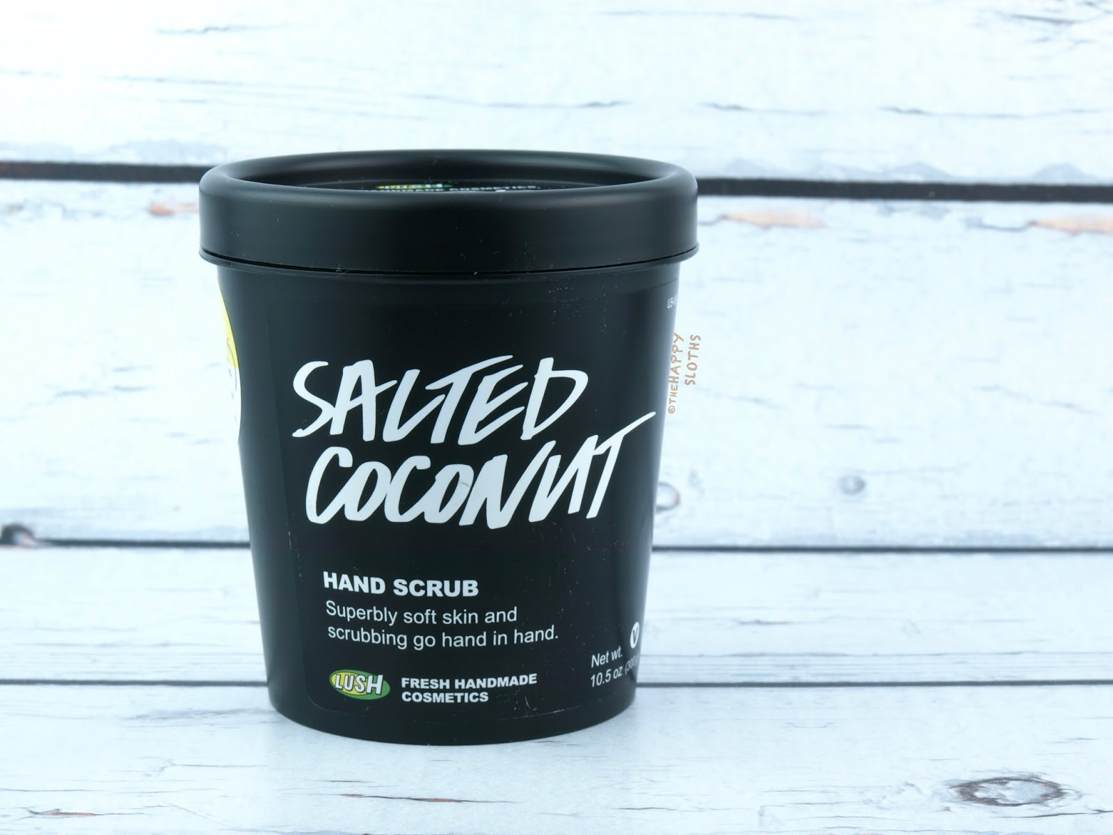 Lush Salted Coconut Hand Scrub: Review