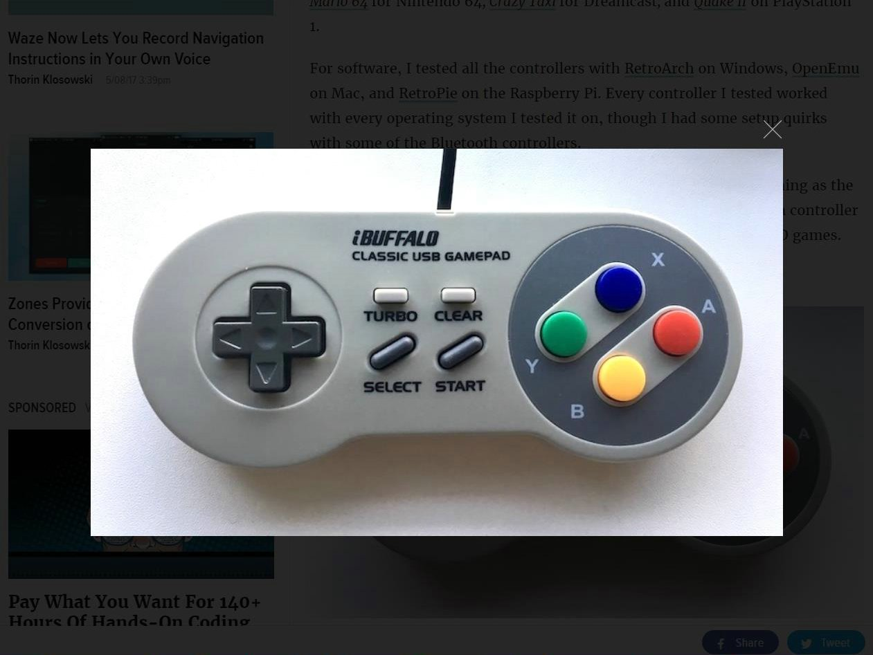 MC2 is BackUP: The Best Controllers for Retro Gaming
