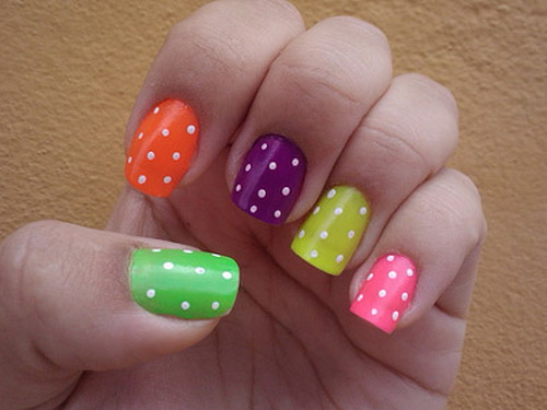Simple and cute nail art designs 2017 with pictures for girls simple and easy nail art designs for short nails prinsesfo Choice Image