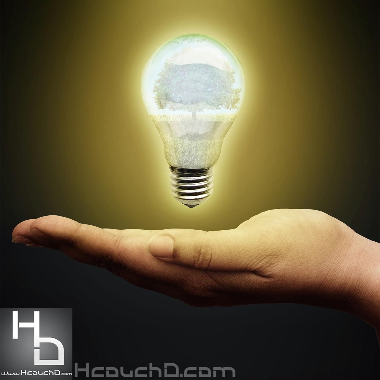 درس 70: كيفية إنشاء تلاعب فكرة يد إلى الطبيعة بفوتوشوب