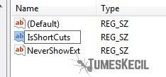 cara menghilangkan tanda panah pada shortcut windows 10