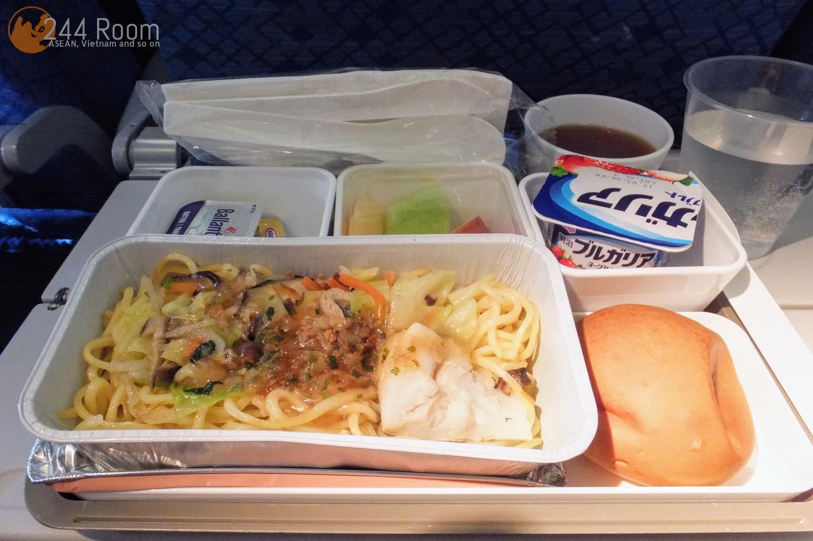 キャセイパシフィックエコノミー機内食 CX-Economy-flightmeal
