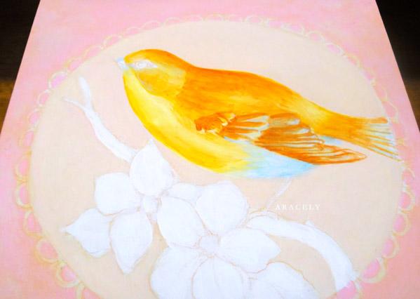 Paso a paso para pintar un ave con acrílicos, pintura decorativa ...