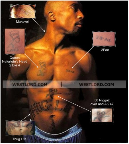 Tattoo Quotes Tupac: 2 Pac Tattoo Pictures