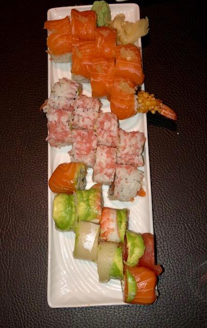 Sticks N Sushi rolls
