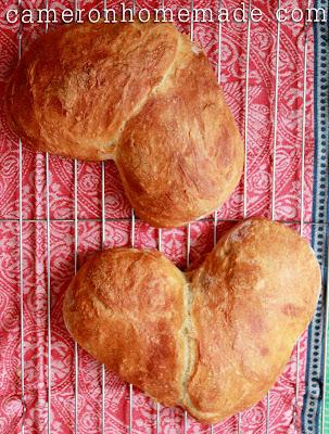 Baking Heart-Shaped Loaves - 7