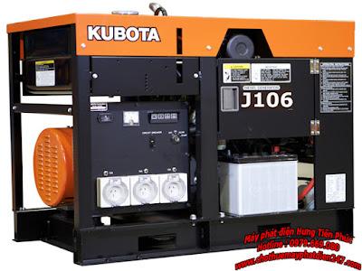 Máy phát điện Kubota 5.5kva J106