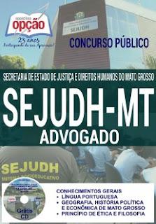 Apostila Sejudh/MT - Agente Penitenciário do Sistema Penitenciário de Mato Grosso