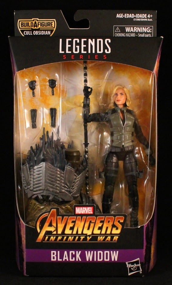 She S Fantastic Marvel Legends Infinity War Black Widow