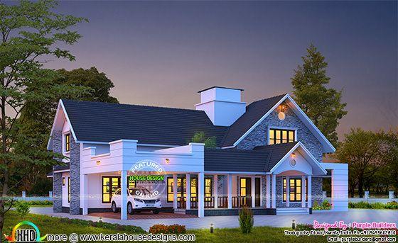 2990 sq-ft, 4 bedroom villa