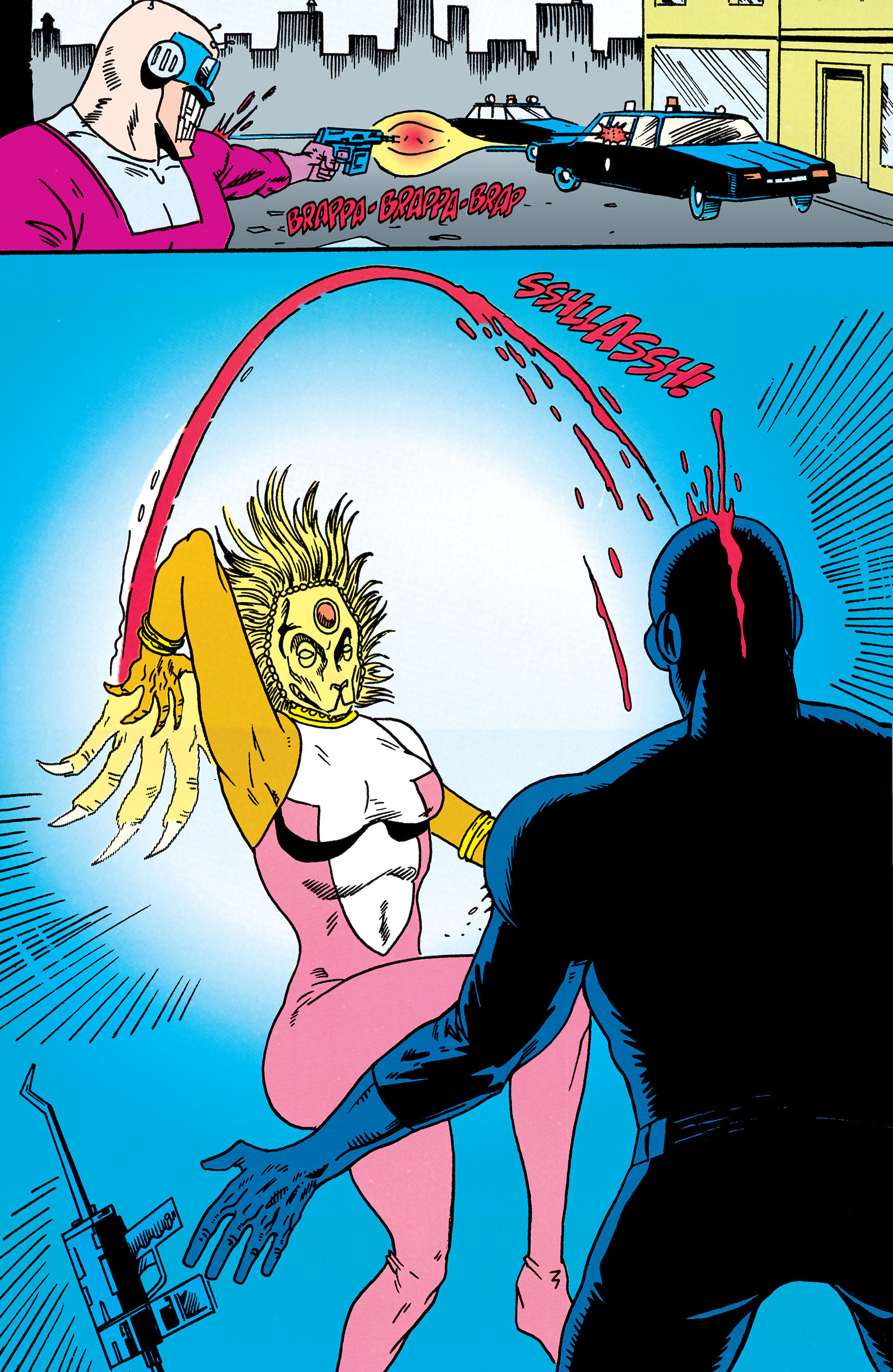 Read online Animal Man (1988) comic -  Issue #44 - 5