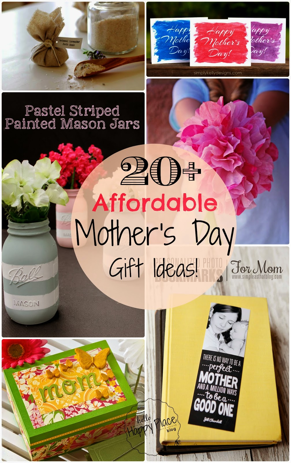 Gifts Ideas For Mothers Day: Hello, Happy Place: Easy And Affordable DIY Mother's Day