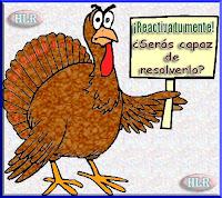 Entre pavos, gallinas y perdices, está la solución a mis problemas