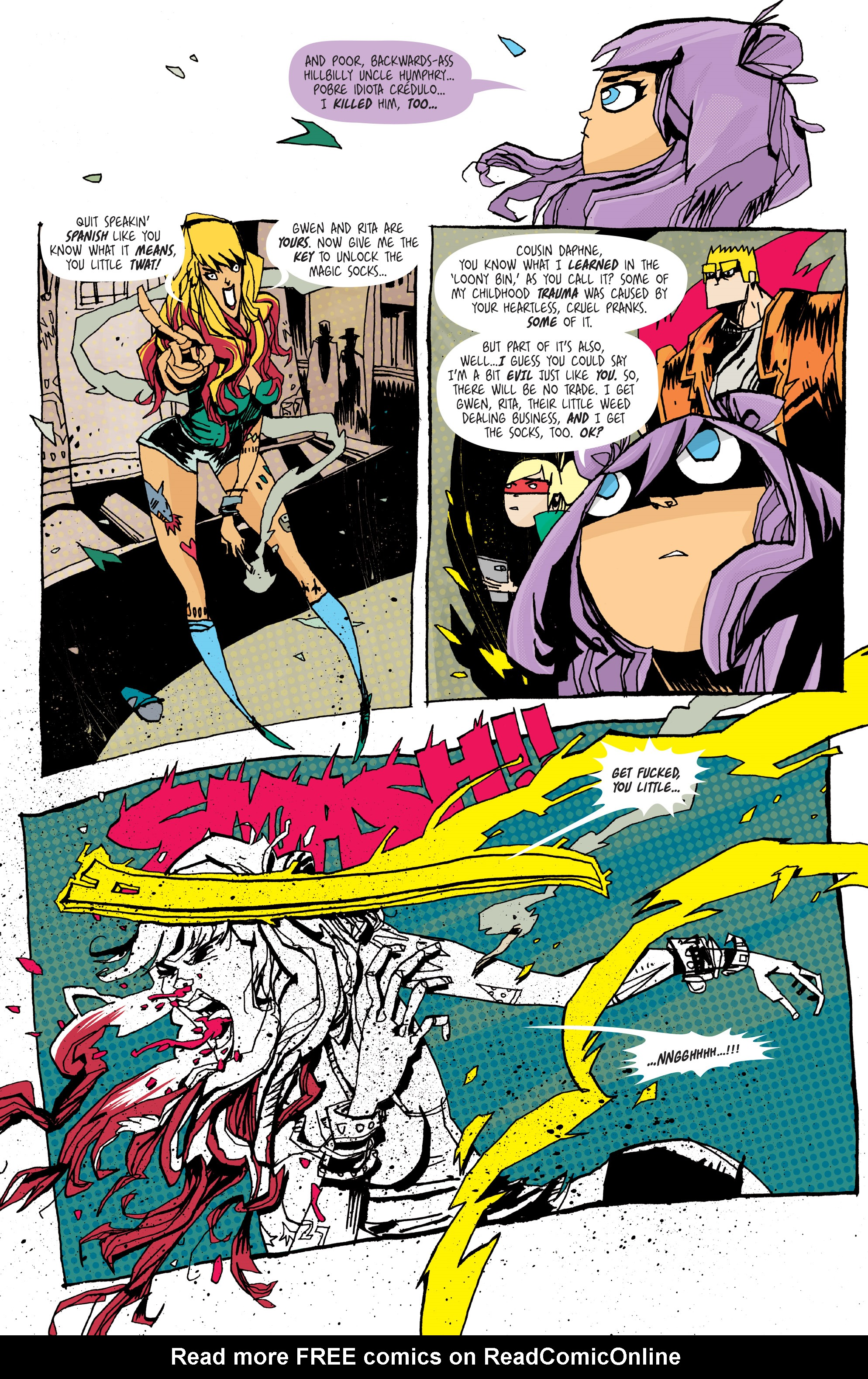 Read online Grrl Scouts: Magic Socks comic -  Issue #2 - 17