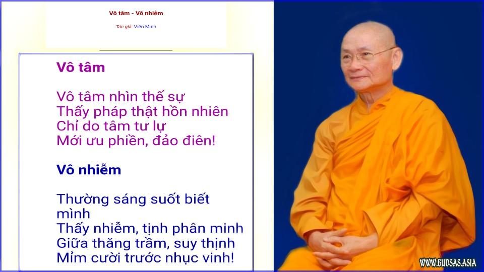 Vài lời dạy của Hòa thượng Viên Minh | Chùa Bửu Long quận 9 HCM