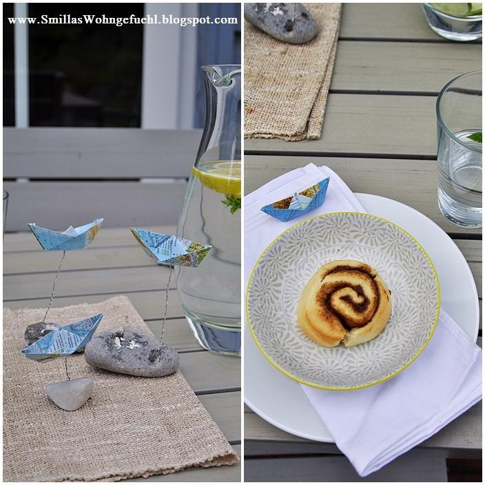 diy schnelle tischdeko f r die sommerliche kaffeetafel smillas wohngef hl. Black Bedroom Furniture Sets. Home Design Ideas