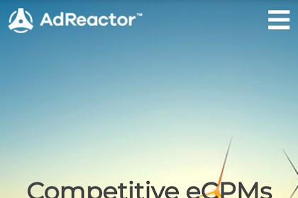 Adreactor - Salah Satu Iklan Terbaik Untuk Web Download (Dan Cara Daftarnya)