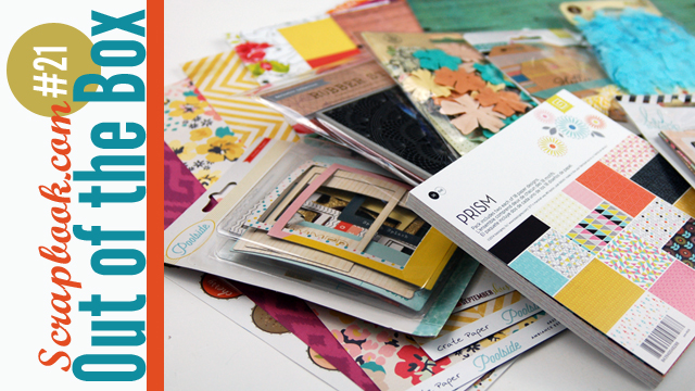Out of the Box #21 and #22 Scrapbooking Haul Videos Jen Gallacher