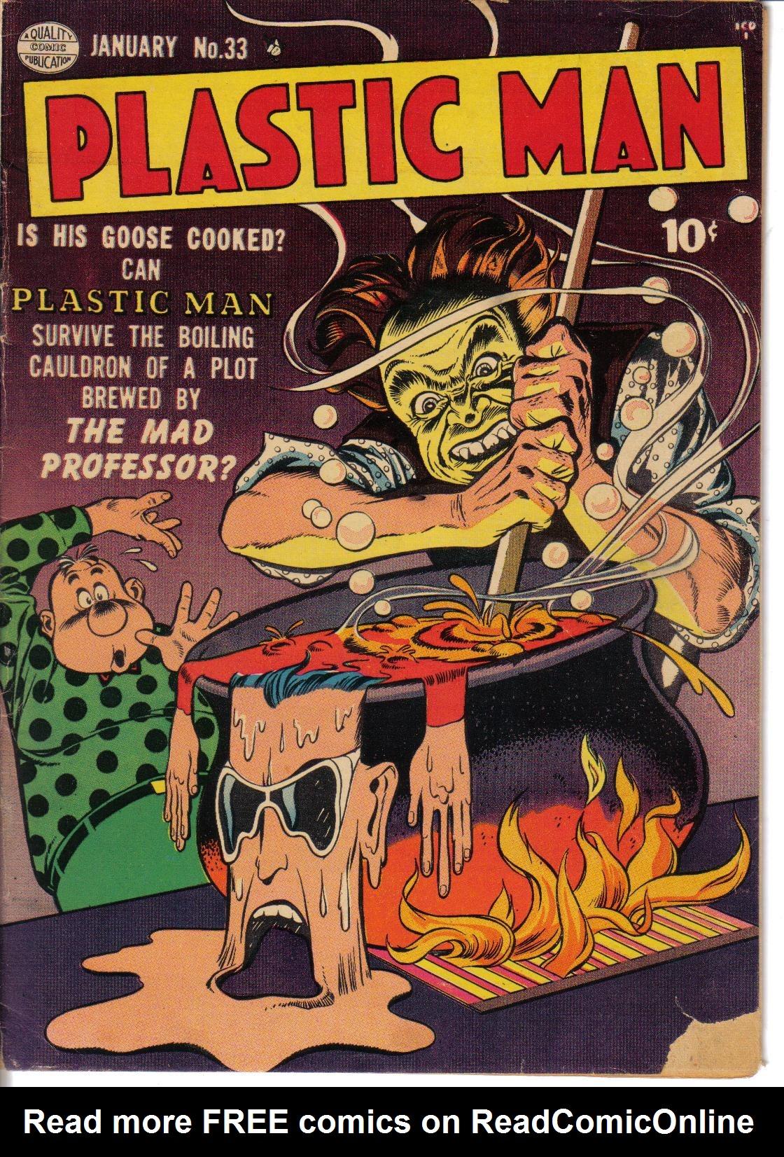 Plastic Man (1943) 33 Page 1