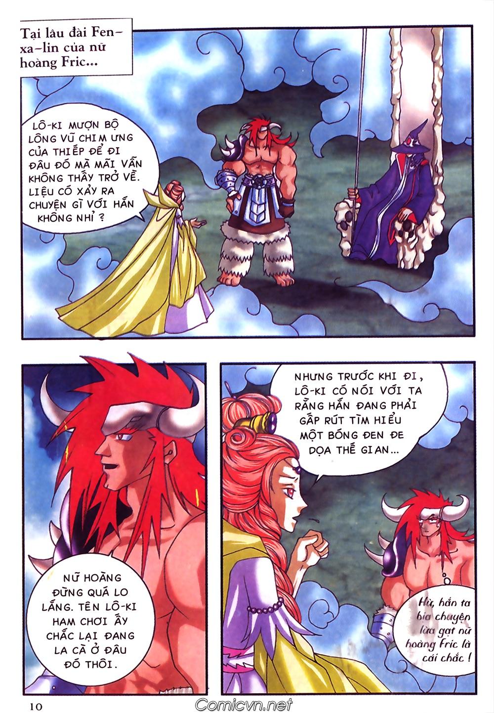 Thần thoại Bắc Âu - Chapter 40: Dì Grit tốt bụng - Pic 11