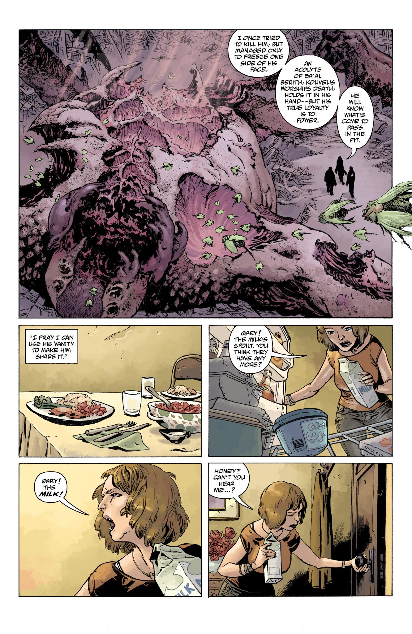 Read online Abe Sapien comic -  Issue #11 - 12