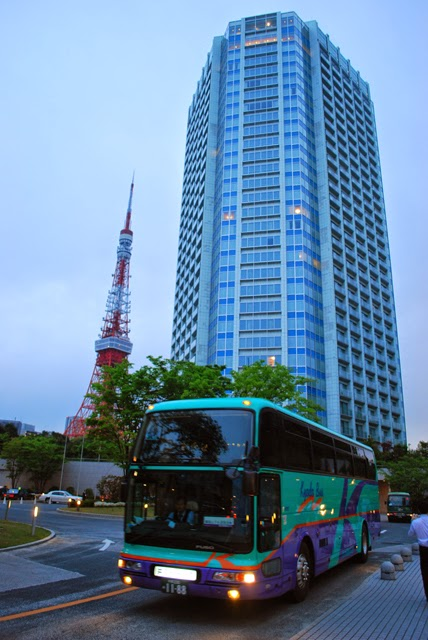 Prince Hotel Park Tower. Best view of Tokyo Tower. Tokyo Consult. TokyoConsult.