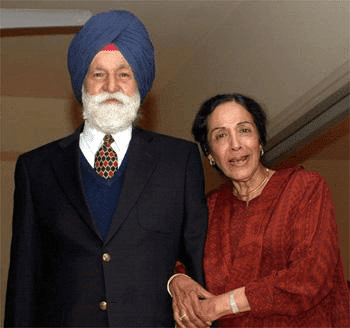 Indian Air Force Marshal Arjan Singh With His Wife HD Photo Image Wallpaper