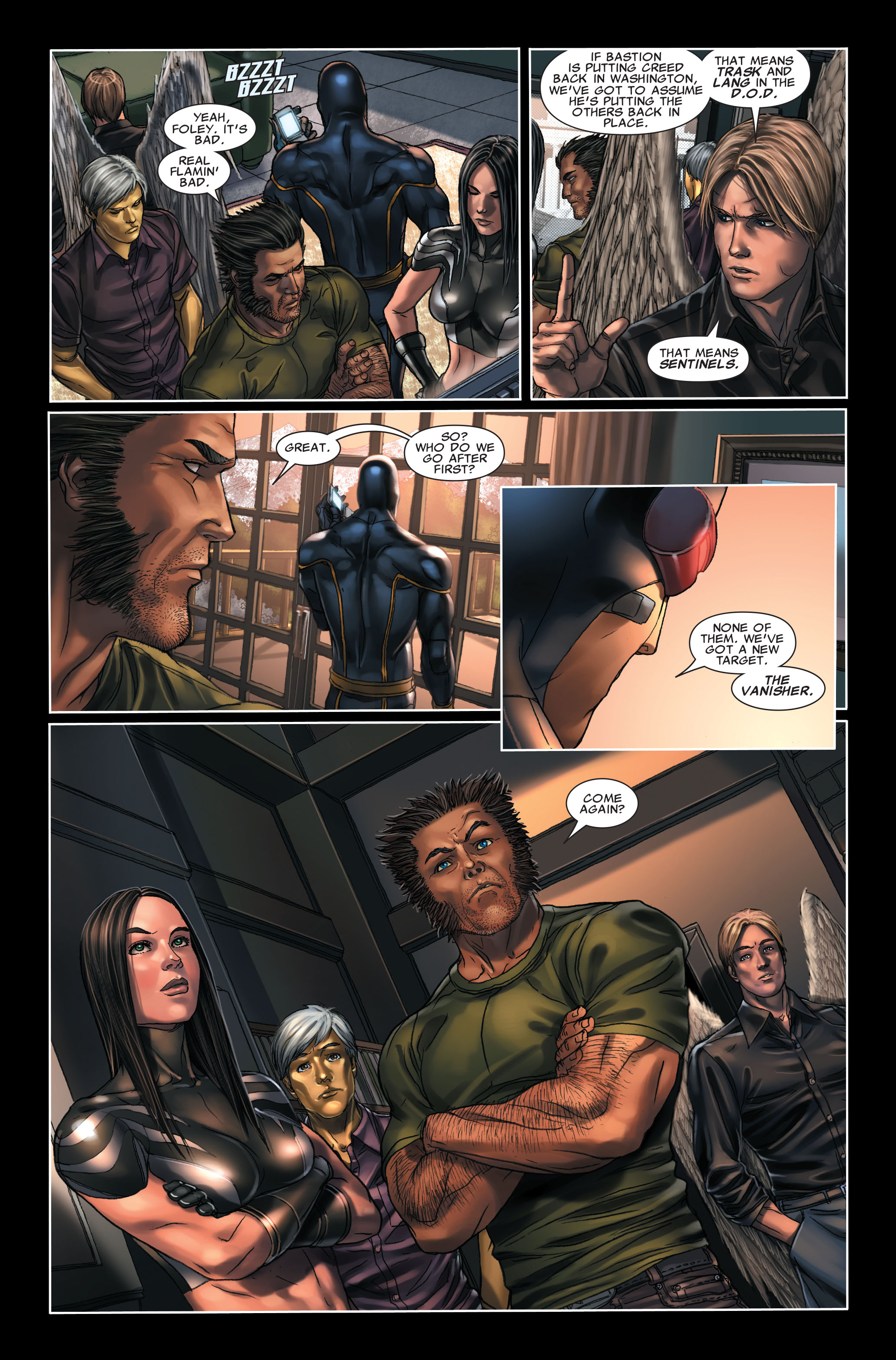 Read online X-Force (2008) comic -  Issue #7 - 21