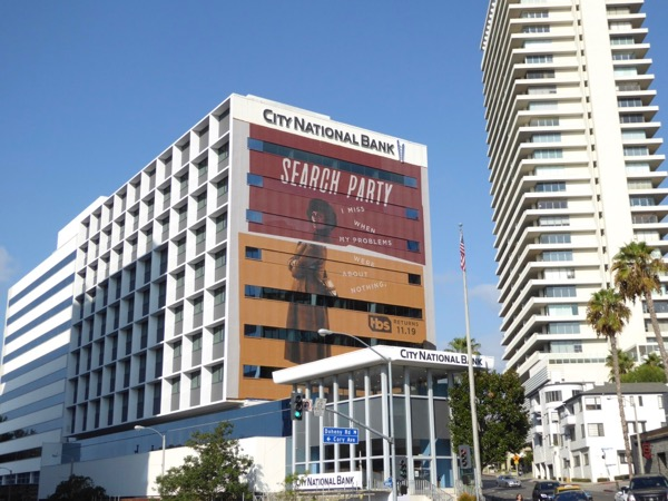 Giant Search Party season 2 billboard