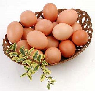 Foto de huevos en canasta