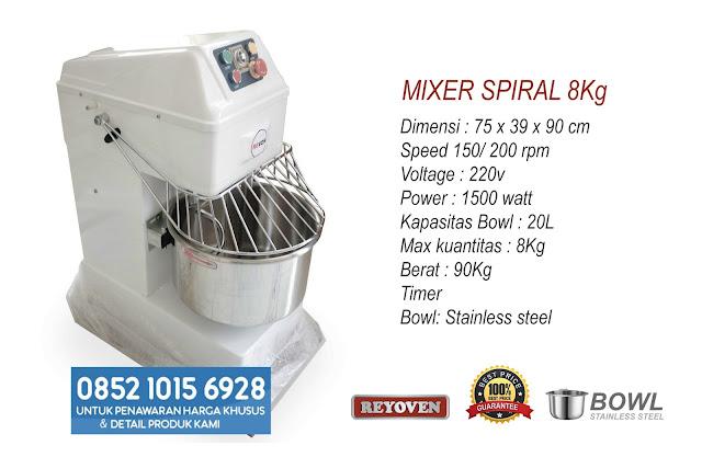 Jual Mixer Roti di Surakarta Jawa Tengah