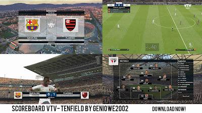 PES 2019 Scoreboard Campeonato Uruguayo by Geniowe2002