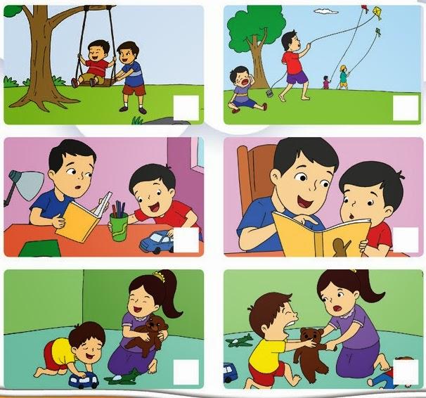 Ips Ilmu Pengetahuan Sosial Hidup Rukun Sehari Hari Gambar Keluarga