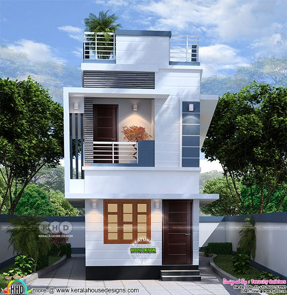 Tiny low cost India home design